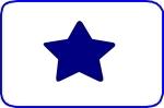 Fustella stella 10mm. cod. XS301 FUSTELLE SMALL