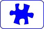 Fustella puzzle 15mm. cod. S09 FUSTELLE SMALL