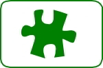 Fustella puzzle 25mm. cod. M05 FUSTELLE MEDIE