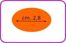 Fustella ovale cod. XM11 FUSTELLE 3,8