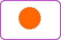 Fustella cerchio scallop cm. 3,8 cod. XM10 FUSTELLE 3,8