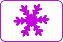 Fustella cristallo cm. 5,00 cod. L04 FUSTELLE 5,00