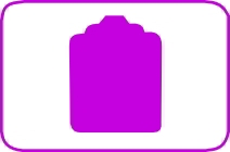Fustella tag cm. 5,00 cod. L02 FUSTELLE 5,00