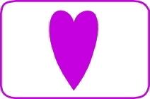 Fustella cuore lungo cm. 5,00 cod. L32 FUSTELLE 5,00
