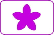 Fustella fiore cm. 5,00 cod. L08 FUSTELLE 5,00