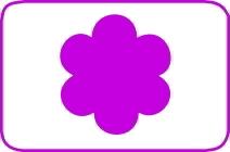 Fustella fiorella cm. 5,00 cod. L10 FUSTELLE 5,00