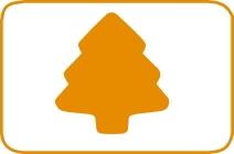 Fustella albero cm 7,5 cod. XL08 FUSTELLE 7,5