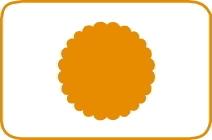 Fustella cerchio scallop cm 7,5 cod. XL04 FUSTELLE 7,5