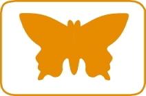 Fustella farfalla cm 7,5 cod. FUSTELLE 7,5