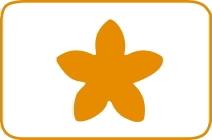 Fustella fiore cm 7,5 cod. XL10 FUSTELLE 7,5