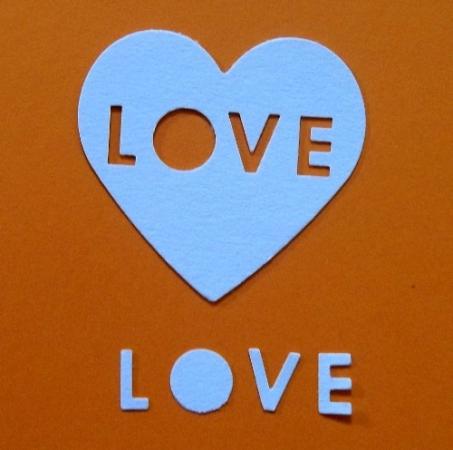 Slhouette Fiskars cuore love cod. L114 FUSTELLE SILHOUETTE