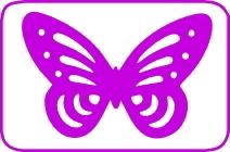 Silhouette farfalla cod. L108 FUSTELLE SILHOUETTE