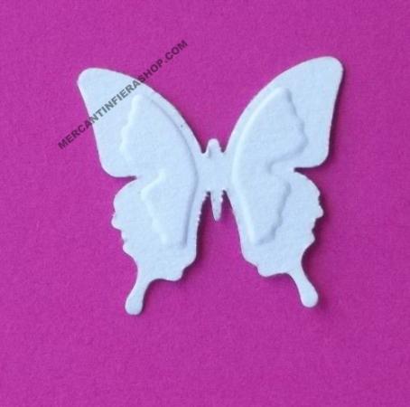 Perforatore effetto rilievo Farfalla FUSTELLE RILIEVO