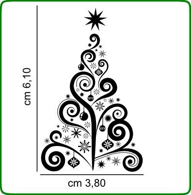 Timbri Trasparenti serie Natale TIMBRI TRASPARENTI