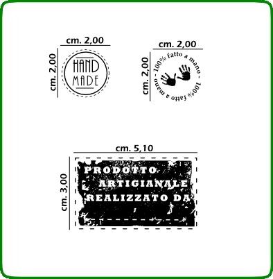 Timbri serie alfabeti cod. TT54 TIMBRI TRASPARENTI