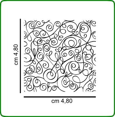Timbri serie decori cod. TT28 TIMBRI TRASPARENTI
