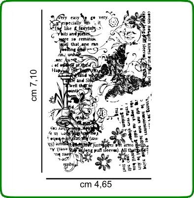 Timbri serie decori cod. TT26 TIMBRI TRASPARENTI