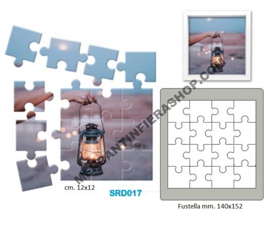 Fustella acciaio Alta Puzzle ALTE