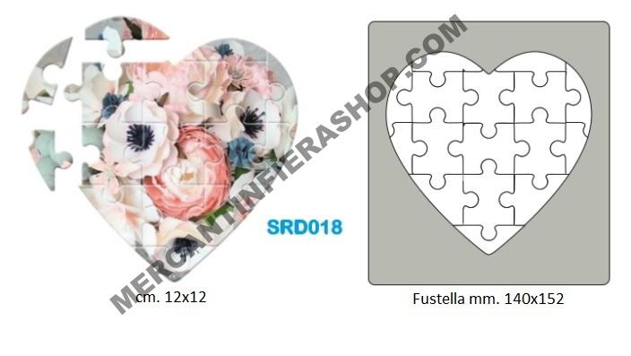 Fustella acciaio alta cod SRD018 ALTE