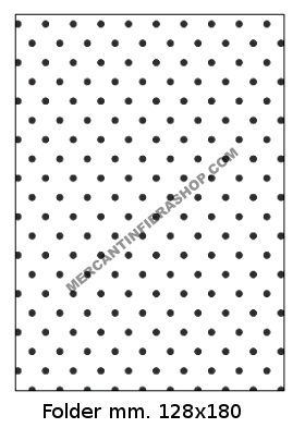 Embossing Folder Pois per Big Shot EMBOSSING