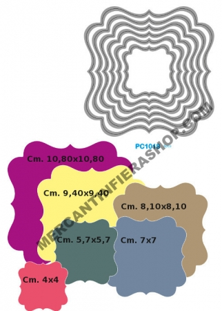Fustella sottile cod. PC1018 SOTTILI