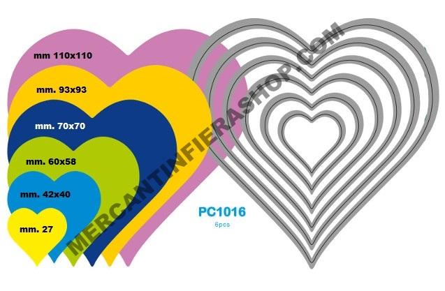 Fustella sottile cod. PC1016 SOTTILI