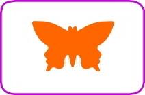Fustella farfalla cm. 3,8 cod. XM26 FUSTELLE 3,8