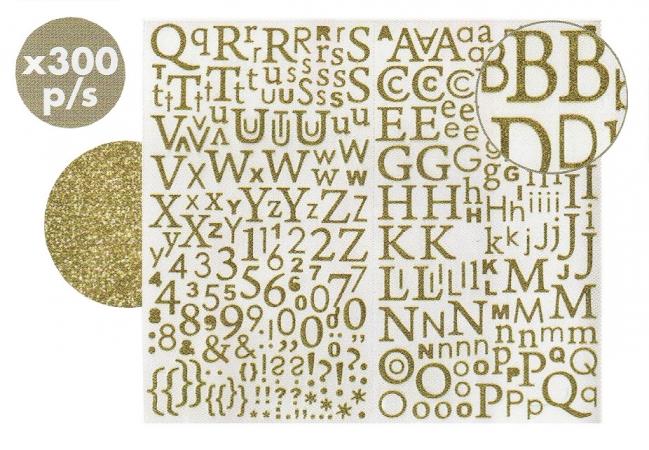 Stickers adesivi lettere/numeri cod. ACS22O ACCESSORI