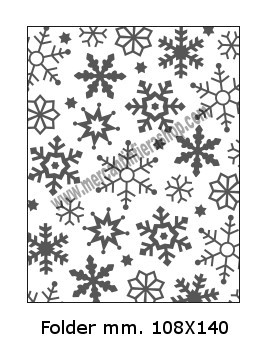 Embossing Folder Cristalli per Big Shot EMBOSSING