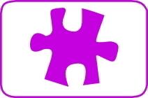 Perforatore puzzle cm. 5,00 cod. L01 FUSTELLE 5,00
