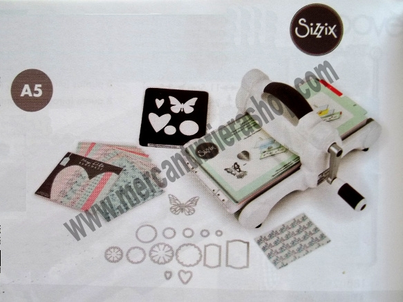 SIZZIX BIG SHOT STARTER KIT cod. 661545 BIG SHOT