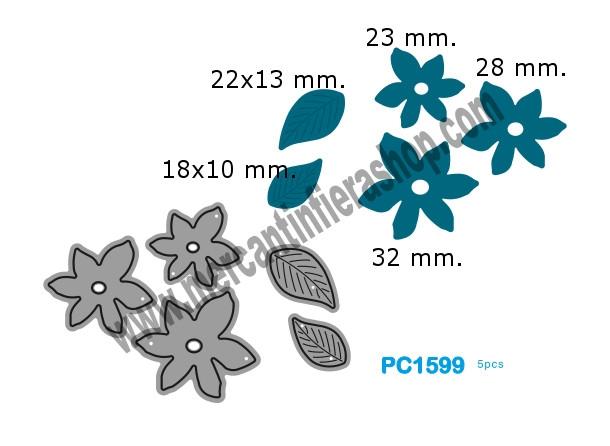 Fustella sottile cod. PC1599 SOTTILI