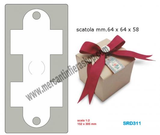 Fustella alta scatola cod SRD311 ALTE