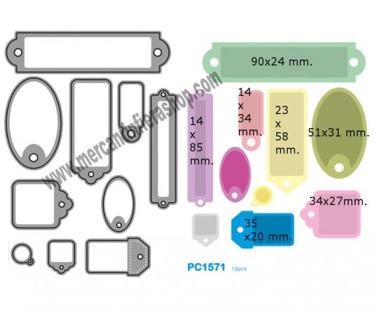 Fustella sottile cod. PC1571 SOTTILI