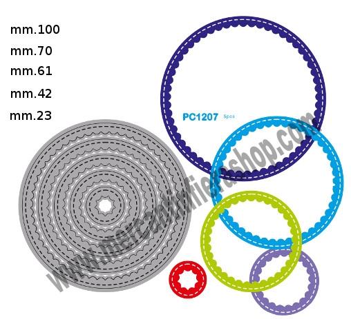 Fustella sottile cod. PC1207