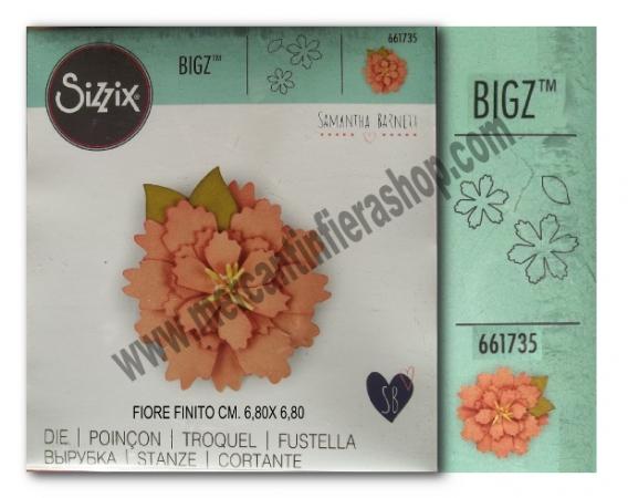 Fustella Big Shot Sizzix Bigz Fiore ALTE
