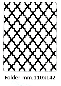Embossing Folder cod. EMBART01 EMBOSSING
