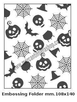 Embossing Folder Halloween EMBOSSING