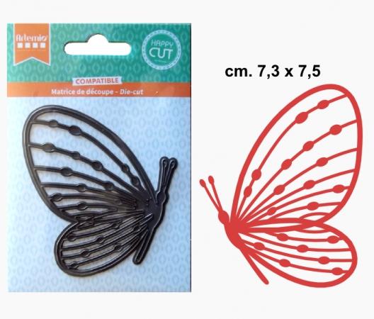 Fustella sottile Profilo Farfalla SOTTILI