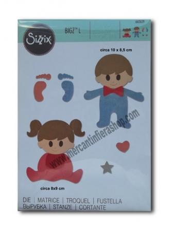 Fustella Sizzix Bigz L Baby ALTE