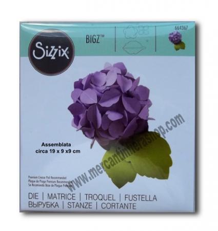 Fustella Sizzix Bigz Hydrangea ALTE